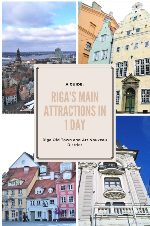 Riga's main attractions in 1 day